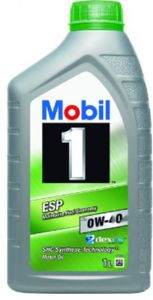 1 Liter MOBIL 0W-40 ESP ESP 1 1 MB 229.31 MB 229.51 MB 229.52 Porsche C40 DEXOS 2 Fiat 9.55535-S2 VW 511 00