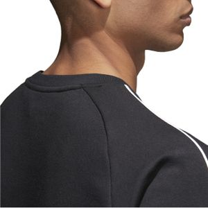 adidas Pullover  mit Rundhals für Herren, Größe:L, Farbe:Schwarz