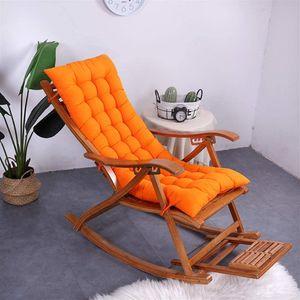 Hochlehner Sitzauflagen Memory Baumwolle für Gartenmöbel Hochlehner Polsterauflage Hochlehner Auflagen Orange 50x120cm