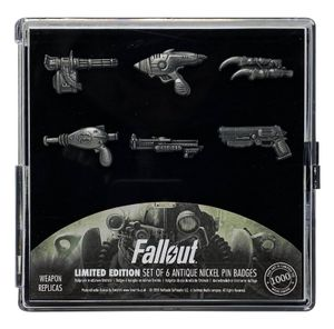 FaNaTtik Fallout Ansteck-Pin 6er-Pack Limited Edition FNTK-B-FLT32