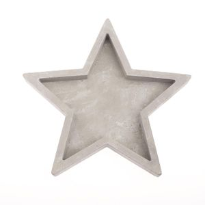 Giessform Stern Schale 22cm
