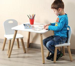 KESPER Kindertisch mit 2 Stühlen 17712-13