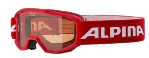 Alpina Kinder Skibrille Schneebrille Piney Singleflex rot