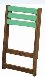 Siena Garden Modular Rückenlehne, grün/ geölt