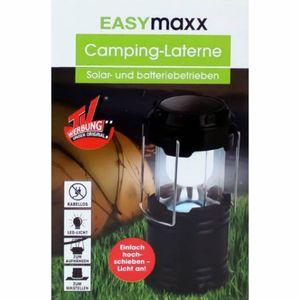 Easymaxx Camping Laterne Solar und Batteriebetrieben aus der TV Werbung