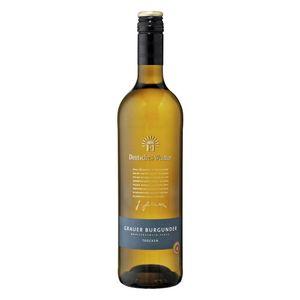 Deutsches Weintor Exclusiv Grauer Burgunder QbA trocken   12,5 % vol   0,75 l