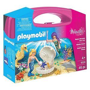 Playset Princess - Magical Mermaids Carry Case PLAYMOBIL 9324 (46 pcs)