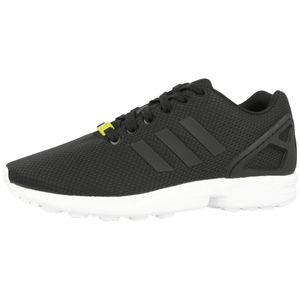 adidas Originals ZX Flux Herren Sneaker Schwarz Schuhe, Größe:44