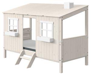 Flexa Classic Classic-Haus 1/1 mit Einzelbett Weiß