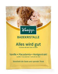 Kneipp Badekristalle Vanille Macadamia und Honigextrakt 60g 2er Pack
