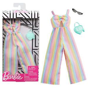 Set Sommer Jumpsuit   Barbie   Mattel GHW76   Trend Mode Puppen-Kleidung
