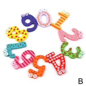 Holz Nette Magnet Alphabet Digital Anzahl Kš¹hlschrank Aufkleber Frš¹hen Bildungs Kinder Baby Spielzeug