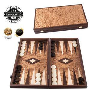 Walnuss Backgammon Set - Luxus - 30x17cm  Spitzenqualität