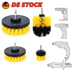 4x Bürstenaufsatz Polierbürste Reinigungsbürste für Bohrmaschine Akkuschrauber