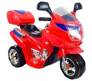 Kinder Elektro Trike Elektromotorrad 6 V Red m. Licht u. Sound Kindermotorrad elektrisch