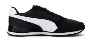 PUMA Runner Low Sneaker Schwarz Schuhe, Größe:42