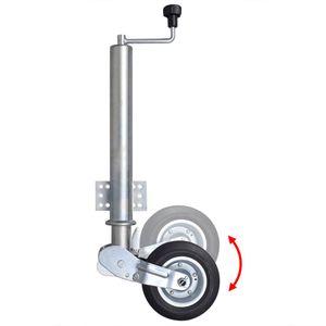 vidaXL 60 mm Schwerlast Stützrad, klappbar