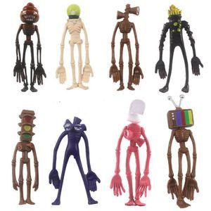 8Pcs / Set Siren Head Actionfigur Spielzeug Kinder Geschenk