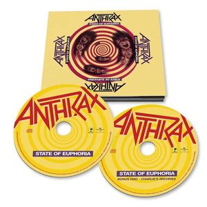 Anthrax - State Of Euphoria (30th-Anniversary-Edition) -   - (CD / Titel: A-G)