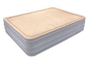 Bestway® Cornerstone Airbed with built-in AC pump (Queen) 203x152x46 cm, Luftbett Queen-Size mit Formschaum und eingebauter Elektropumpe