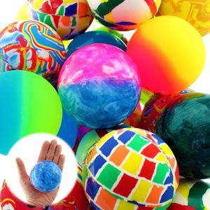 Flummi Ball Springball Bunt XL 60mm Dopsball 6cm Groß Mitgebsel