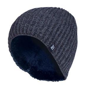 HEAT HOLDERS - Herren Outdoor Winter Warm Beanie Strick Mütze mit Gefüttert
