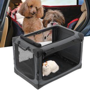 Hundetransportbox Hundetasche Faltbare Transportbox Autobox Hundebox Fur Auto Home 83*59*59cm