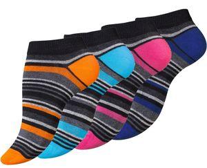 Vincent Creation® Sneaker Socken 8 Paar, mit Ringel 35-38