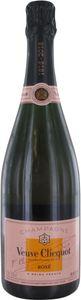 Veuve Clicquot Rosé Gepa berühmter Wein aus Frankreich 750ml