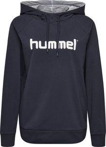 hummel hmlGO Baumwoll Logo Hoodie Damen marine S