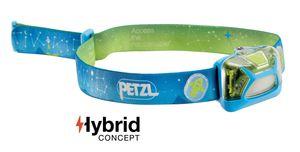 PETZL Kopflampe TIKKID E091BA00 Blau für Kinder