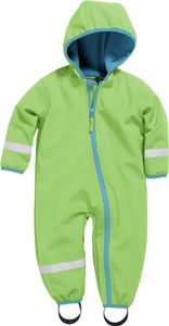 Playshoes Overall Softshell grün Jungen 430250-29, Farbe Playshoes:grün, Größe Playshoes:80
