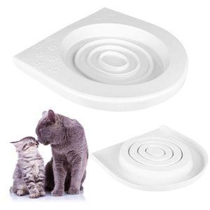 Katze Toilettenaufsatz Trainingssystem Toilettendeckel Katzentoilette WC-Sitz Training System