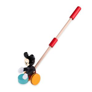 Disney Mickey Mouse Schiebestange Holz Spielzeug