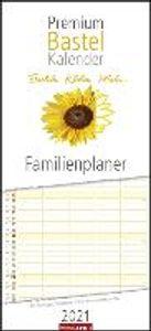 Bastelkalender Familienplaner - Kalender 2021