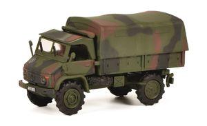 Schuco 452652700 - Modellfahrzeug Unimog S404 Bundeswehr, 1:87