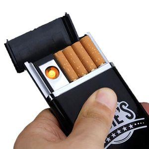 Arc USB-elektrische wiederaufladbare flammenlose Feuerzeug Zigarrenkisten 2 E3G0