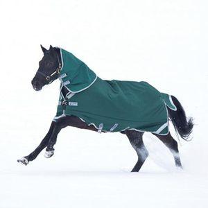 Horseware Rambo Original Turnout lite 0g - green with silver reflektor, Größe:130