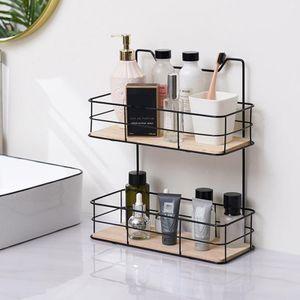 Moderne Eisen Lagerung Organizer Regal Rack Korb für Küche Schränke, Speisekammer, Schränke, Schlafzimmer, Badezimmer Farbe schwarz