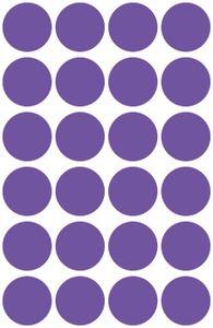 AVERY Zweckform Markierungspunkte Durchmesser: 18 mm lila 96 Etiketten