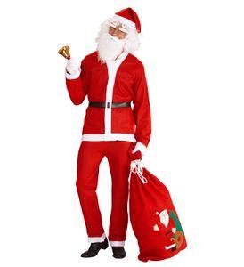 Weihnachtsmann Nikolaus Kostüm Einheitsgröße Komplettkostüm