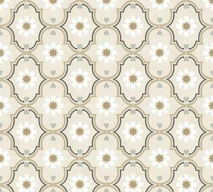 Livingwalls Vliestapete Cozz Ökotapete grau beige braun 10,05 m x 0,53 m 362971 36297-1