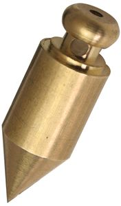 JPC Senklot zylindrische Form aus Messing