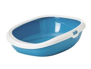 """Nobby Katzentoilette """"Gizmo Medium"""" - blau/weiß - 44 x 35,5 x 12,5 cm; 72196"""