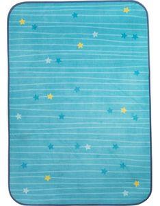 teppich Sternenhimmel blau 130 x 90 cm