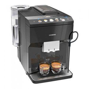 Siemens iQ500 TP503R09, Espressomaschine, 1,7 l, Kaffeebohnen, Gemahlener Kaffee, Eingebautes Mahlwerk, 1500 W, Schwarz