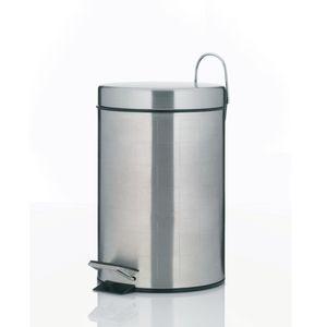 Kela Badabfalleimer Check 3 Liter Edelstahl