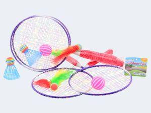Johntoy Badmintonset Outdoor Fun 5 Stück