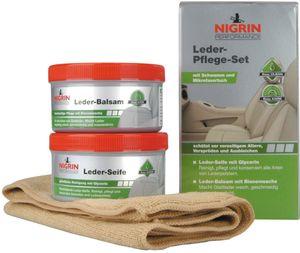 NIGRIN Performance Leder Pflege Set