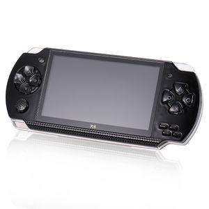 Handheld-Spielekonsole 8GB 4.3in Pocket Player Spiel mit 400 Classic Games 1.3MP Kamera Support Video & Musik spielen